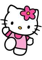 Раскраски - Хелло Китти (Hello Kitty)