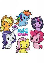 Раскраски для девочек - Мой маленький пони - Cutie Mark Crew (My Little Pony - Cutie Mark Crew)