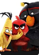Раскраски - Мультфильм - Angry Birds в кино