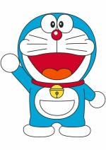 Раскраски - Мультфильм - Дораэмон (Doraemon)