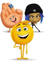 Раскраски - Мультфильм - Эмоджи фильм (The Emoji Movie) 2017