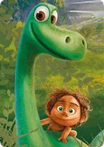 Раскраски Хороший динозавр