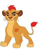 Раскраски - Мультфильм - Хранитель Лев (The Lion Guard)