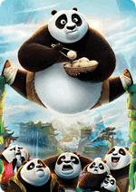 Раскраски - Мультфильм - Кунг-фу панда 3