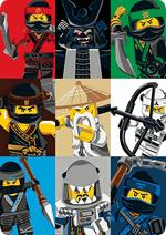 Раскраски - Мультфильм - ЛЕГО Ниндзяго Фильм (The LEGO Ninjago Movie) 2017
