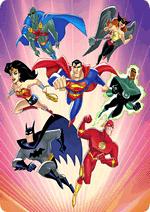 Раскраски - Мультфильм - Лига Справедливости