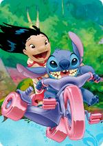 Раскраски - Мультфильм - Лило и Стич (Lilo & Stitch)