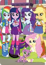 Раскраски - Мультфильм - Мой маленький пони: Девочки из Эквестрии