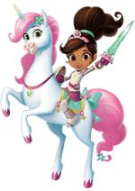 Раскраски - Мультфильм - Нелла - отважная принцесса (Nella the Princess Knight)