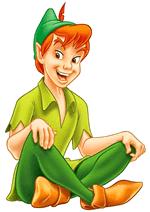 Раскраски - Мультфильм - Питер Пэн (Peter Pan)
