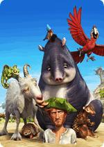 Раскраски - Мультфильм - Робинзон Крузо: Очень обитаемый остров (Robinson Crusoe) (The Wild Life) 2016