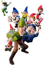 Раскраски - Мультфильм - Шерлок Гномс (Sherlock Gnomes) 2018