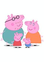 Раскраски - Мультфильм - Свинка Пеппа (Peppa Pig)