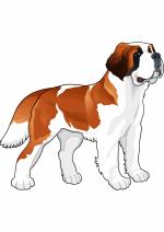 Раскраски - Животные - Собаки