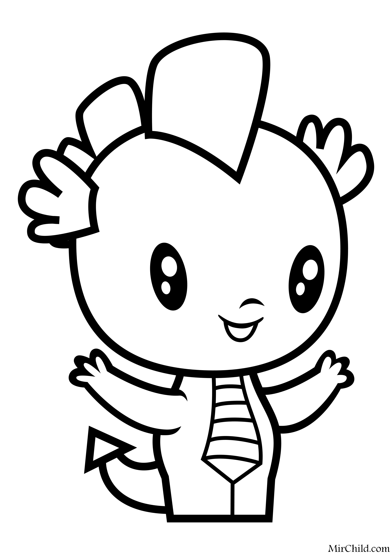 Раскраска - Мой маленький пони - Cutie Mark Crew - Мини ...