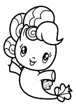 Раскраска - Мой маленький пони - Cutie Mark Crew - Морская поняшка Пинки Пай