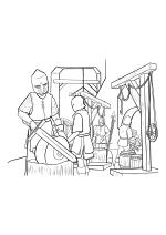 Раскраска - Малефисента: Владычица тьмы - Люди готовятся к войне