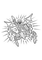 Раскраска - LEGO Нексо Найтс - LEGO Nexo Knights Абсолютная сила Лаварии