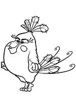 Раскраска - Angry Birds в кино - Матильда