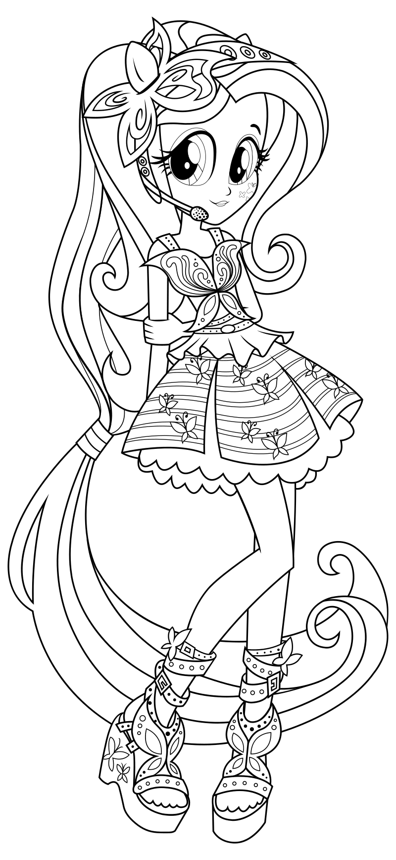 My little pony equestria girl twilight sparkle coloring pages