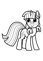 Раскраска - Мой маленький пони: Дружба – это чудо - Сильверлэй