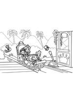 Раскраска - Джейк и пираты Нетландии - Сила принцесс
