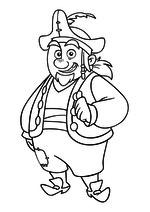 Раскраска - Джейк и пираты Нетландии - Шарки