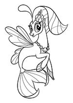 Раскраска - My Little Pony в кино - Принцесса Небесная Звезда