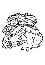 Раскраска - Покемон - 003 - Венузавр