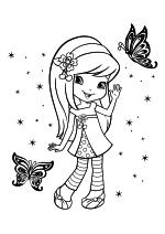 Раскраска - Шарлотта Земляничка: Ягодные приключения - Познакомься с Шерри Джем