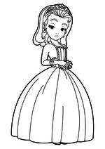 Раскраска Принцесса Эмбер