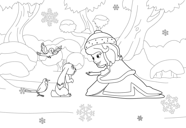 Раскраска Праздник в Волшебнии