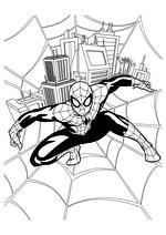 Раскраска - Совершенный Человек-паук - Человек-паук