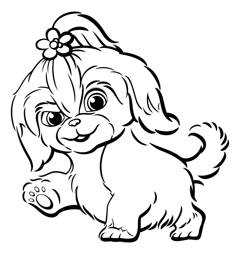 Раскраска - Тайная жизнь домашних животных 2 - Дейзи