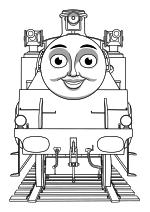 Раскраска - Томас и его друзья - Белль
