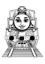 Раскраска - Томас и его друзья - Ашима