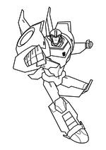 Раскраска - Трансформеры: Роботы под прикрытием - Бамблби