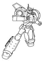 Раскраска - Трансформеры: Роботы под прикрытием - Стронгарм