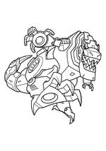 Раскраска - Трансформеры: Роботы под прикрытием - Гримлок в бою