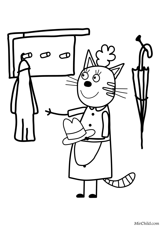 Раскраски Мама и дочка распечатать бесплатно | 3111x2200