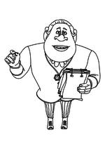 Раскраска - Урфин Джюс и его деревянные солдаты - Руф Билан
