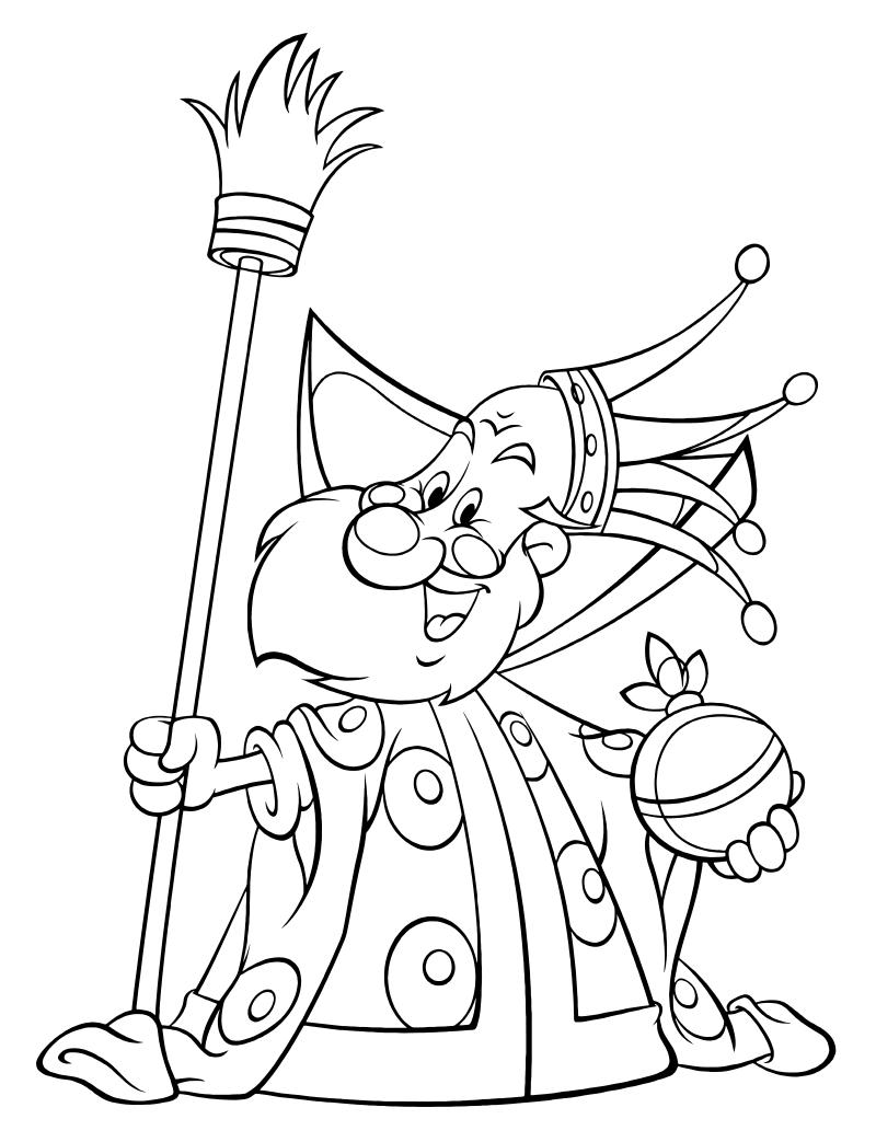 Раскраска царь - 3