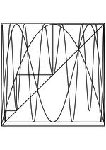 Раскраска - Математические фигуры - Паутинообразная схема логистической карты 2