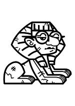Раскраска - Крокодильчик Свомпи - Скутер Пенроуз
