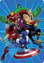 Раскраски - Мультфильм - Мстители: Величайшие Герои Земли