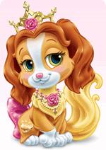 Раскраски для девочек - Королевские Питомцы