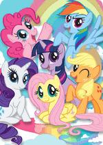 Раскраски - Мультфильм - Мультфильм - Мой маленький пони: Дружба – это чудо