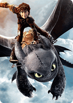 Раскраски - Как приручить дракона 2