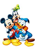 Раскраски - Мультфильм - Микки Маус и друзья (Mickey Mouse & Friends)