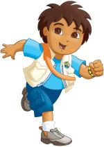 Раскраски - Мультфильм - Вперёд, Диего, вперёд! (Go, Diego, Go!)